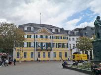 Hauptpost im Palais Fürstenberg am Münsterplatz