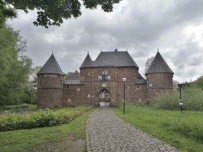 Wir nähern uns der Burg Vondern