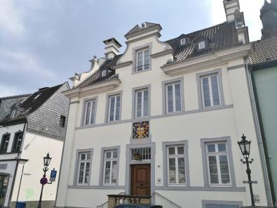 Das Alte Rathaus von Uerdingen am Marktplatz
