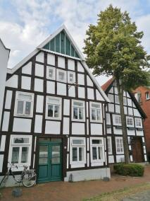 Fachwerkhäuser am Kirchplatz