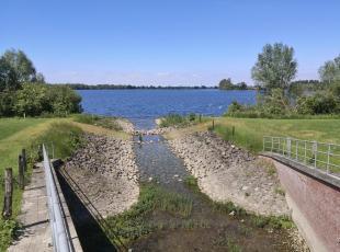 Kanal zwischen Grindsee und Roosenhofsee