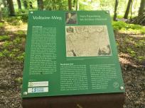 Auf dem Voltaire-Weg im Moyländer-Wald