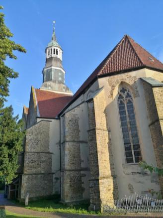 Chor der ab 1235 errichteten St.-Sylvester-Kirche