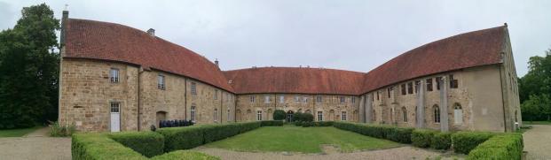 Panoramabild vom Klosterhof