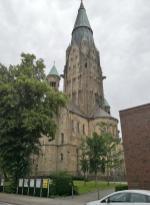 Der 102 Meter hohe Kirchturm ist der höchste im Münsterland
