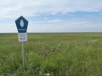 Der Zugang zur Vegetationsszone und dem Watt ist streng verboten