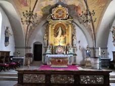 Innenraum der Kirche St. Marien in Oythe