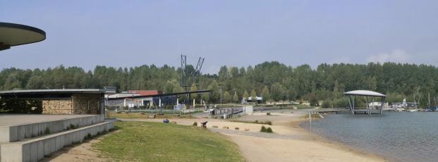 Panoramabild vom Freizeitbereich