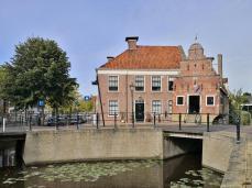 Kanalkreuzung an der Zilverstraat vor dem Korendragershuisje