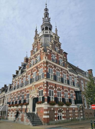 Historisches Rathaus von Franeker