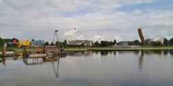 Panoramablick auf die Freizeitanlage Kardinge