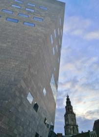 Blick vom Forum zur Martinskerk