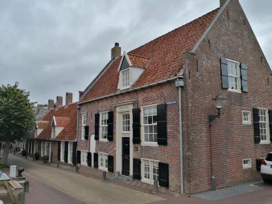 Haus an der Schleuse zur Stadsgracht