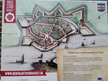 Bild der historischen Festung Hasselt