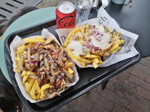 Allein das ein Grund fürs Wiederkommen: Die besten Pommers auf unserer Holland-Tour haben wir in Zutphen gegessen