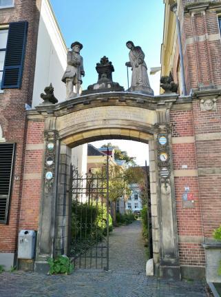Tor zum Oude Bornhof am Zaadmarkt