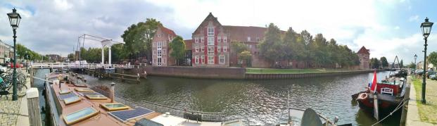 Panoramablick über die Thorbeckegracht
