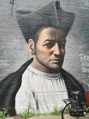 Wer mag das sein? Streetart nahe der früheren Bethlehemkirche