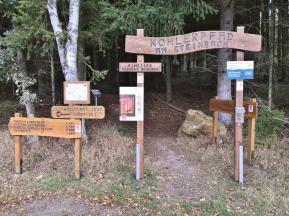 Portal am Einstieg zur Wanderung