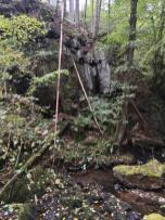 Urige Landschaft am Flachsbach