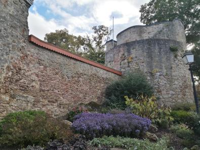 Bastion an der Stadtmauer neben dem Oberen Torturm