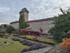 Grauer Turm in der historischen Stadtmauer von Kirchheimbolanden