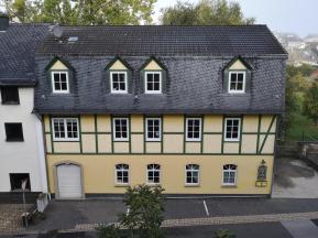 Alte Mühle am Simmerbach unter Stephanskirche