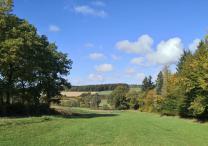 Blick in die Landschaft unterhalb von Altweidelbach