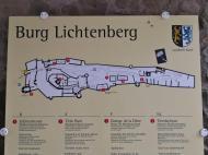 Oberburg und Unterburg sind im Laufe der Jahrhunderte zusammen gewachsen