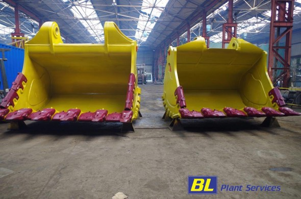 BL Plant Servvices Team Welding and bucket manufacturing
