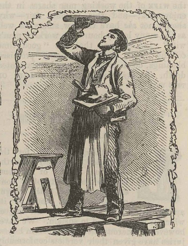 "Henry Anelay illustration for ""British Workman"" masthead issue no. 14"