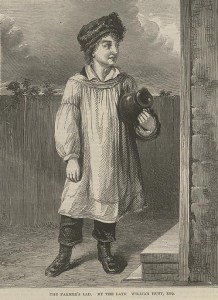 """The Farmer's Lad"" ""British Workman 115 (1864): 460."