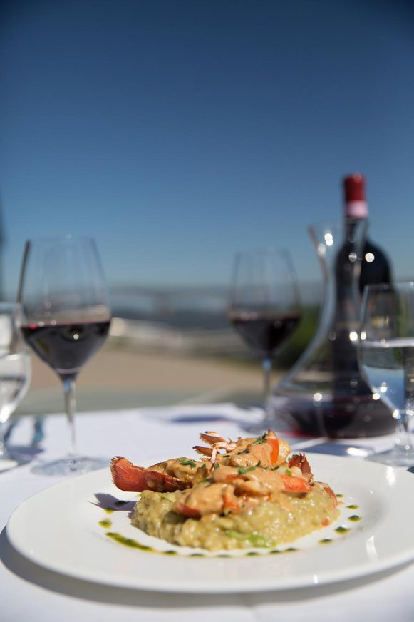 Try one of our fresh lobster dishes