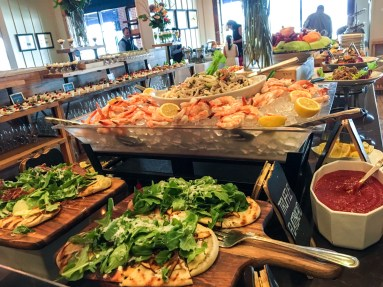 Blu Pointe Gourmet Sunday Brunch