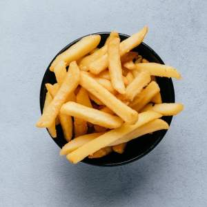 blu beach sides crunchy potato fries