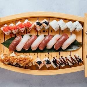 blu beach sushi boat 2