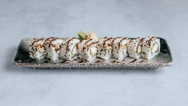 blu beach sushi chicken teriyaki