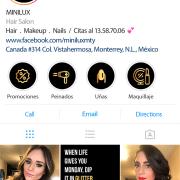 BluCactus Minilux Portada de Instagram
