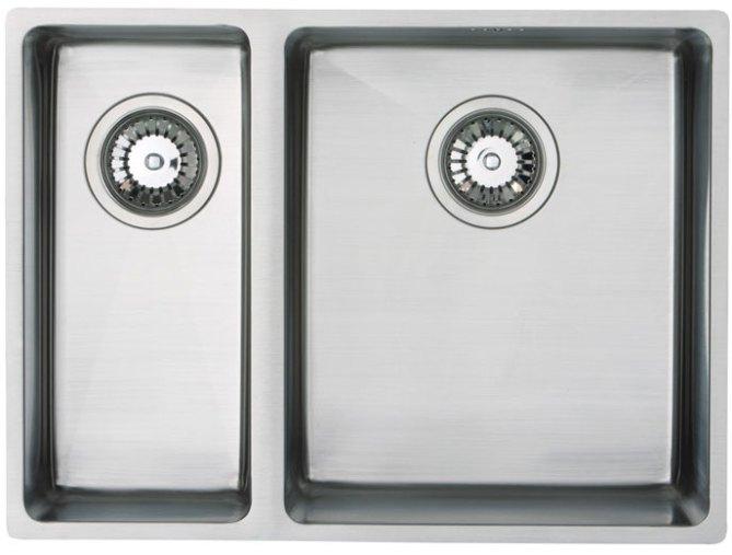 Bluci Acute 07 1.5 Bowl Stainless Steel Kitchen Sink