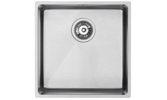 Bluci Acute 10 Versatile Medium Stainless Steel Square Kitchen Sink