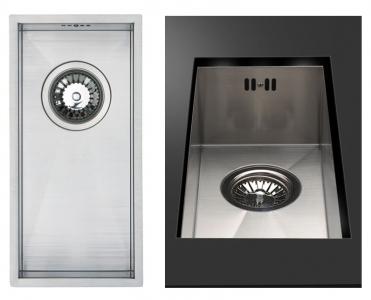 Bluci Kube18 Half bowl stainless steel kitchen sink