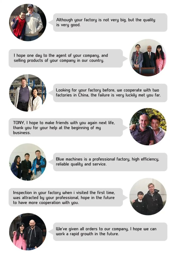 testimonial from some of cnc part's customers