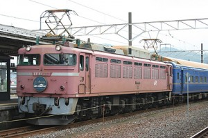 Overnight train Nihonkai is the best way to save the time from Osaka to Aomori (C) Sonic Rail Garden