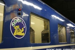 Reserved seat (Goron to seat) is almost same as basic berth. (C) Sonic Rail Garden