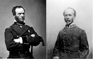 General Billy Sherman and General Joe Johnston