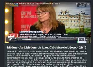 bijoux bluebaobab sur bfm TV