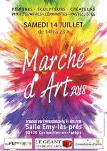 art-marché-14-juillet-2018-Cormeilles-bluebaobab
