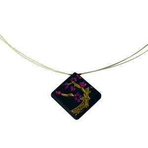 collier-cerisier-en-fleurs-ebene-or-pendentif