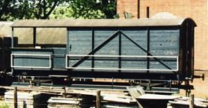 Bluebell Railway Wagons  Great Western Railway 20 Ton