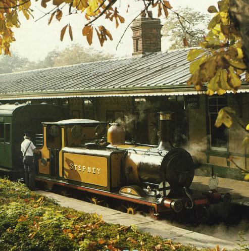 Bluebell Railway Locomotives Stepney